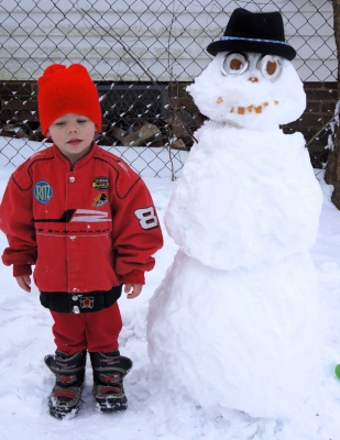 Nathaniel And His Snowman