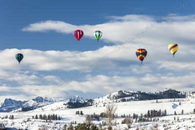 Floating Over The Methow Valley
