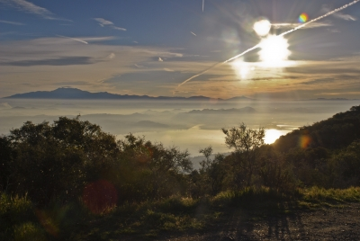 Sunrise In The Santa Ana Mountains