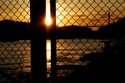 Gated  Sunset