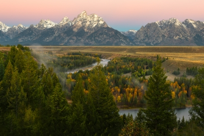 Snake River And The Grand Teton