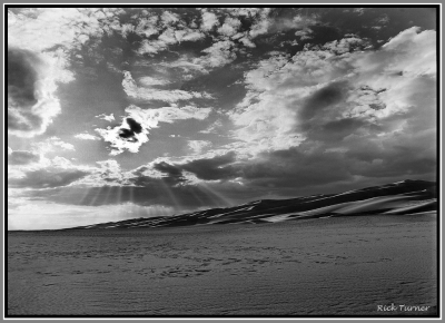 White Sands Sundown