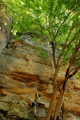 Grand Ledge Rock Climbing