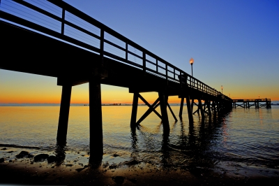 Southport Pier At Sunrise