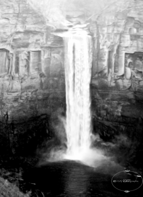 Actual Taughannock Falls, Ny
