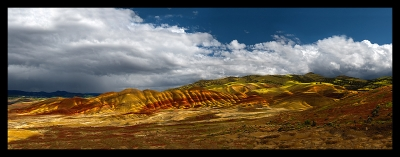 Painted Hills ….. Clearing Storm
