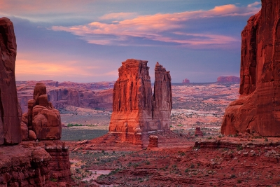 The Organ From Park Avenue, Arches National Park