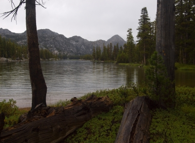 Huckleberry Lake After Storm