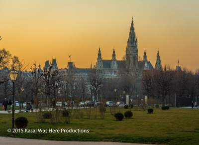 Wien Sunset