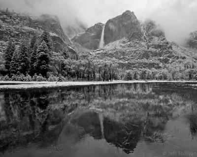 May Snow In Yosemite Valley