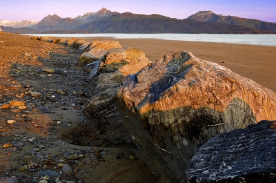 Alaska, Homer Spit, Sunset, Kachemak Bay