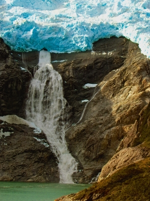 Glacier Waterfall