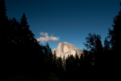 The Light Of Half Dome