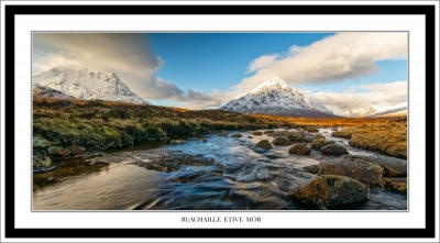 Buachaille Etive Mòr – View From King's House Hotel