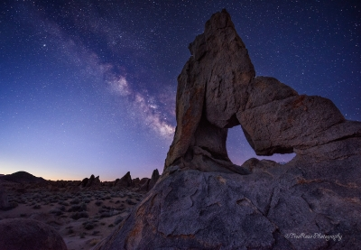 Milky Way Over Boot Arch