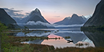 Milford Sound At First Light