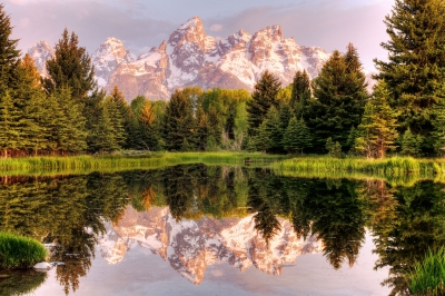Tetons Reflections