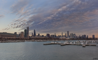 Crazy Clouds Over Chicago