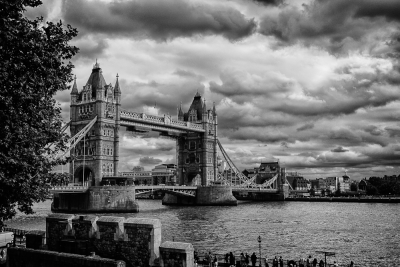 Tower Bridge Storm Coming
