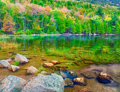 Acadia National Park, Me, Bubble Pond,
