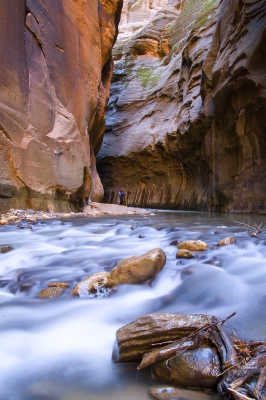 Hiking The Narrows At Zion