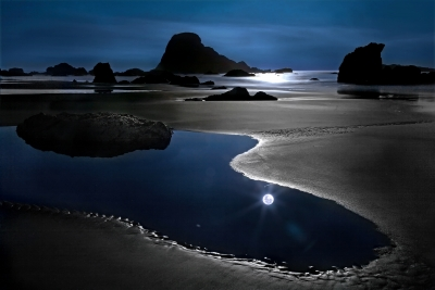 Moonshine At The Beach