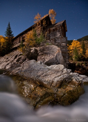 Crystal Mill By Moonlight