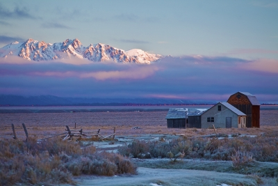 Grand Teton National Park, Mormon Barns