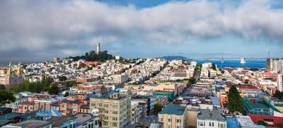 Coit Tower And The Streets Of San Francisco