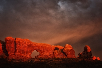 Windows At Arches National Park