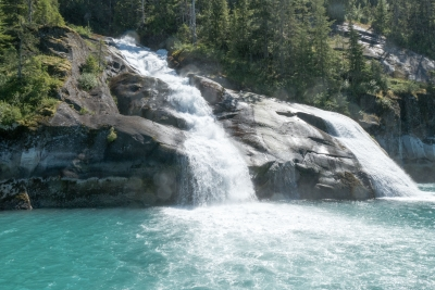 Double Water Fall – Tracy Arm Fjord