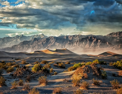 April Storm In Death Valley