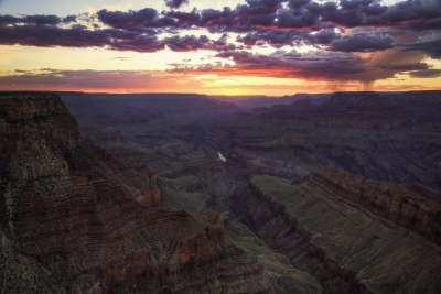 Sunset At Lipan Point