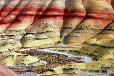 Bottom Of The Painted Hills