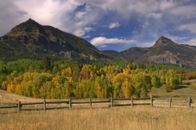 Fall Scenic @ San Juan National Forest