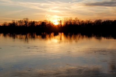 Sunset On The Tn River