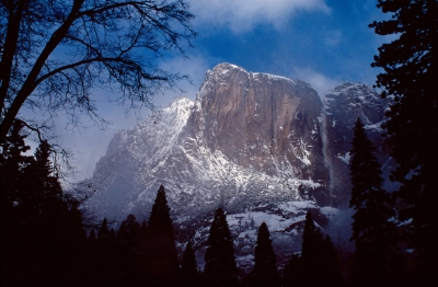 Winter Yosemite Falls
