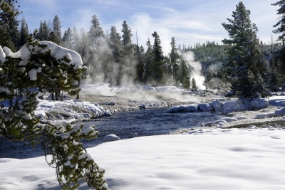 Firehole River Yellowstone National Park Winter 2011