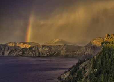 Storm Over Crater Lake