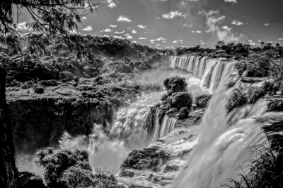 The Might Iguazu Falls