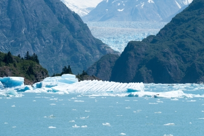 Unusual Iceberg From South Sawyer Glacier