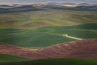 Dusting The Palouse