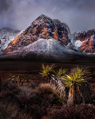 Red Rock Snow Storm