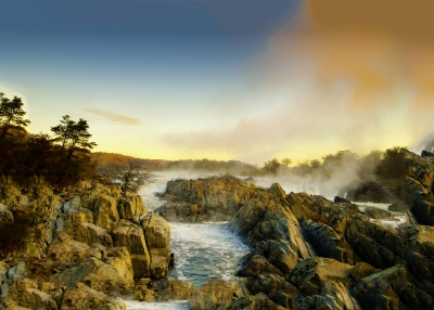 Great Falls National Park Morning