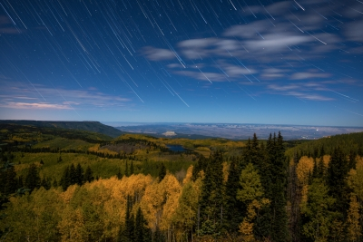 A Night Over Grand Mesa