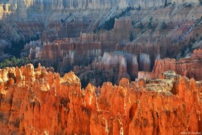 Navajo Loop At Bryce Canyon