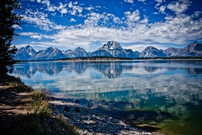 Trail To The Tetons