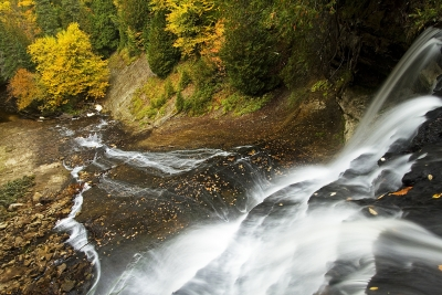 Laughing Whitefish Falls From Above