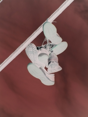 Sneakers On A Wire # 2