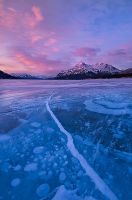 Abraham Lake Sunrise